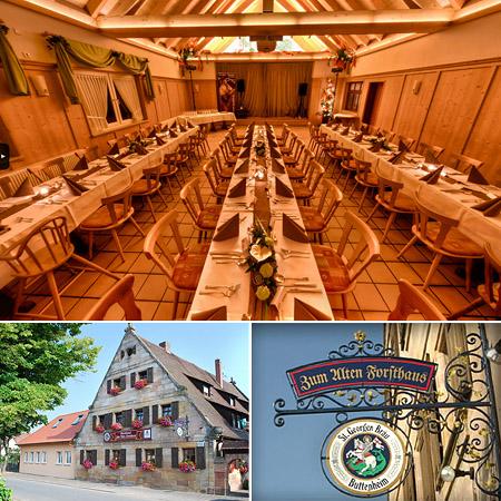"""Festsaal, Hochzeitslocation - """"Forsthaus Neunhof"""""""
