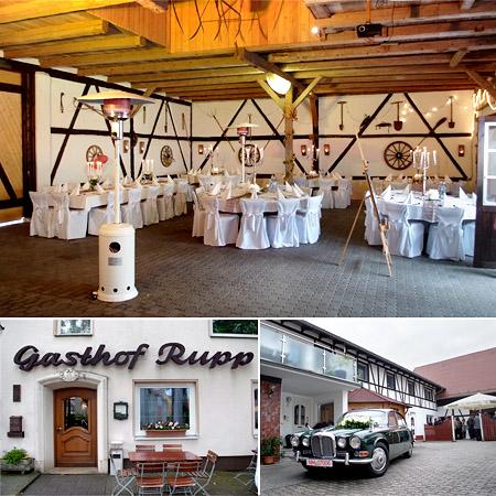 """Saal im """"Gasthaus Rupp"""""""