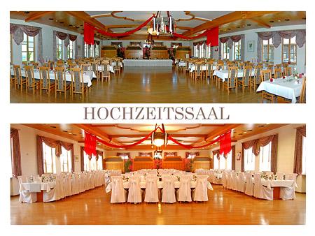 Dekoration für Hochzeit