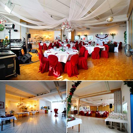 Hochzeitssaal Karlsruhe - Deko für Hochzeit