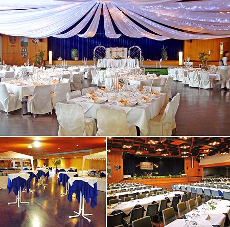 Hochzeitssaal Viernheim - Deko für Hochzeit