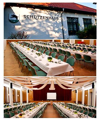 """Hochzeitssaal """"Schützenhaus Vorstfelde"""" in Wolfsburg"""