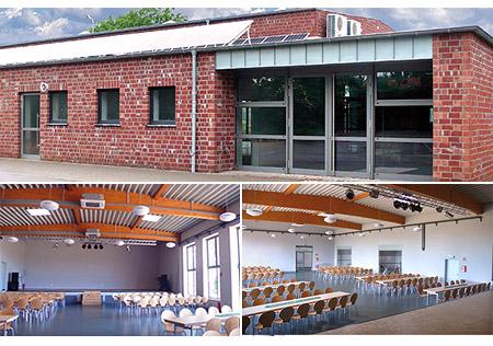 """Hochzeitssaal """"Bürgerhalle Würm"""" in Geilenkirchen - Raum Heinsberg, Erkelenz, Aachen"""