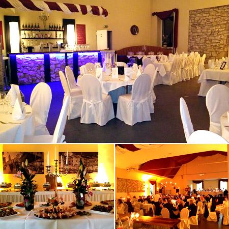 Saal für Hochzeit - Linnenschmidt
