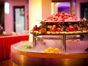 Früchtetisch Hochzeit