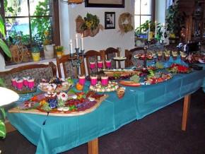 Buffet Tisch - Geburtstag