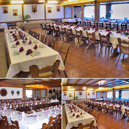 Hochzeitssaal in Aitrang - Umgebung Kaufbeuren, Marktoberdorf, Kempten