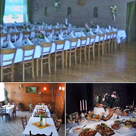 Hochzeitssaal in Andervenne - Umgebung Fürstenau, Lingen