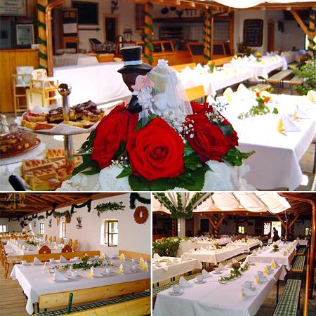 Hochzeitssaal in Bad-Birnbach - Raum Passau