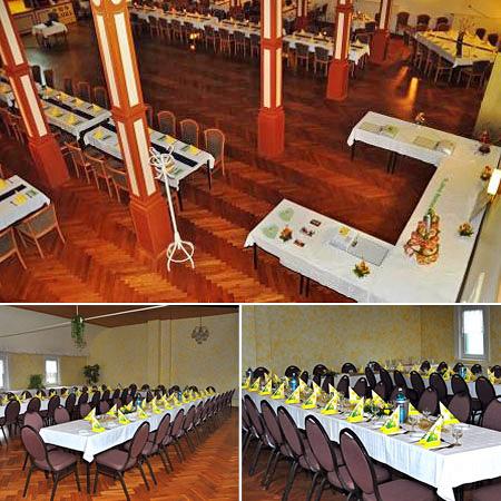 Hochzeitssaal in Bennewitz - Raum Leipzig, Grimma, Eilenburg
