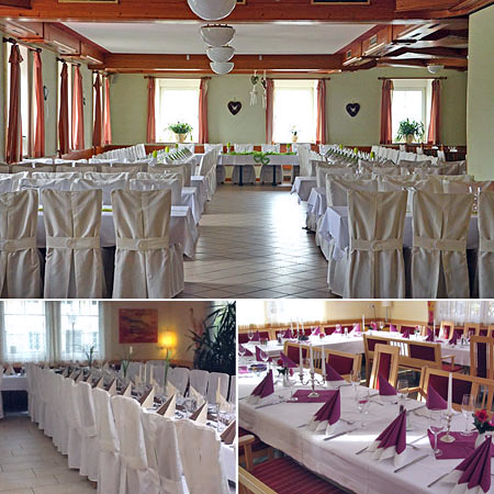 Hochzeitssaal in Ennsdorf - Raum Linz, Steyr