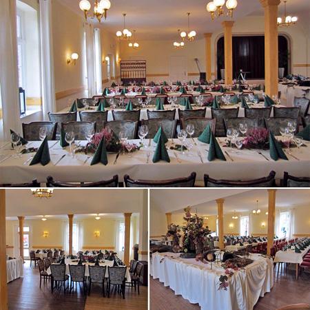 Hochzeitssaal Gasthof Dahms
