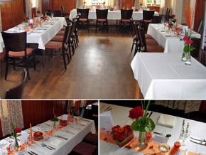 """Hochzeitssaal """"Gasthof Goldener Stern"""" in Mühlhausen"""