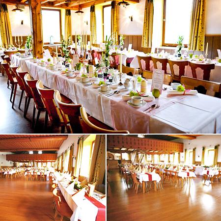 Hochzeitssaa Kirchweidach - Umgebung Altötting