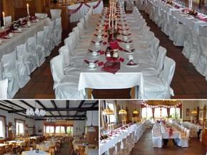 Hochzeitssaal in Rothenburg ob der Tauber - Raum Crailsheim, Ansbach