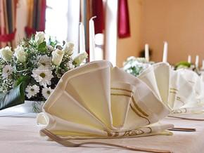 Hochzeitsserviette