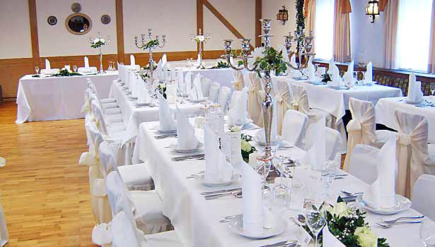 Saal Zur Rose In Weissenhorn Raum Ulm Hochzeitssaal