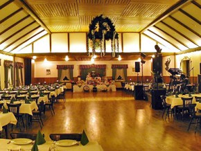 Saal Hochzeitsfeier