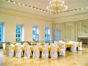 Saal Schloss Graditz Hochzeit