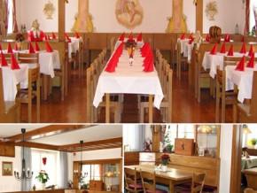 Hochzeitssaal Sonthofen, Gasthof, Saal für 1200 Personen, Bayern