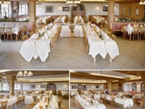 Hochzeitssaal Babensham, Gasthof, Saal für 230 Personen, Bayern