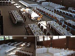 Hochzeitssaal Burtenbach, Gasthof, Saal für 600 Personen, Bayern