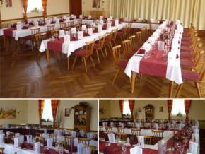 Hochzeitssaal Gersfeld (Rhön), Gasthof, Saal für 100 Personen, Hessen