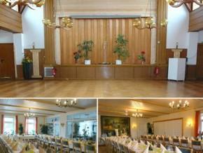 Hochzeitssaal Gelting, Gasthof, Saal für 150 Personen, Schleswig-Holstein