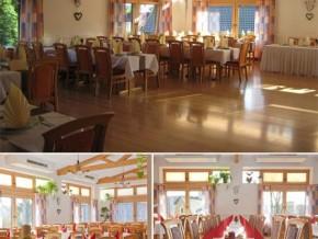 Hochzeitssaal Trausnitz, Gasthof, Saal für 200 Personen, Bayern