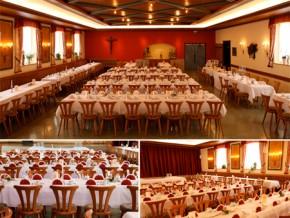 Hochzeitssaal Hauzenberg, Gasthof, Saal für 280 Personen, Bayern