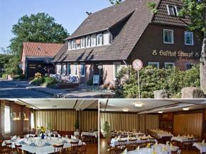 Hochzeitssaal Embsen, Gasthof, Saal für 100 Personen, Niedersachsen