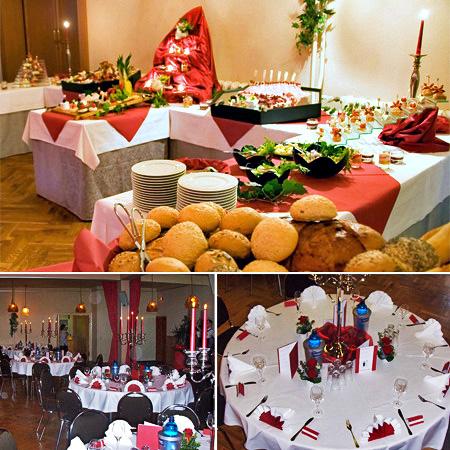 Hochzeitssaal in Leipzig