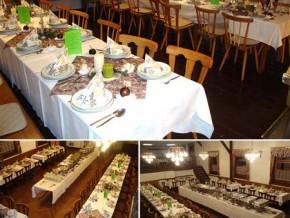 Hochzeitssaal Bischofsheim - Unterweißenbrunn, Gasthaus, Saal für 130 Personen, Bayern
