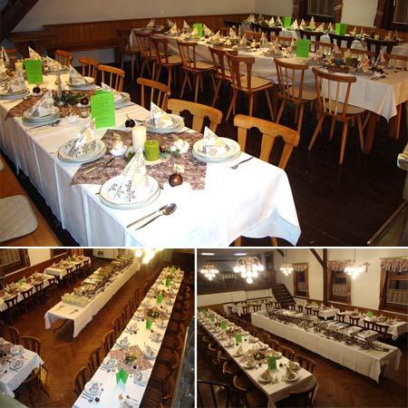 Hochzeitssaal Bischofsheim - Unterweißenbrunn