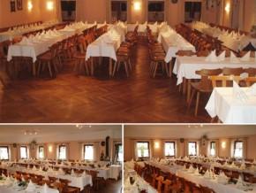 Hochzeitssaal Hattenhofen (Bayern), Gasthof, Saal für 150 Personen, Bayern
