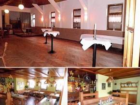 Hochzeitssaal Rieth (Hellingen), Gasthaus, Saal für 150 Personen, Thüringen