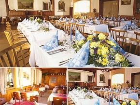 Hochzeitssaal Marquartstein, Gasthof, Saal für 350 Personen, Bayern