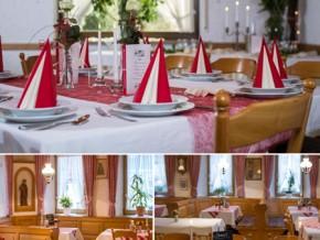 Hochzeitssaal Burgoberbach, Gasthof, Saal für 120 Personen, Bayern