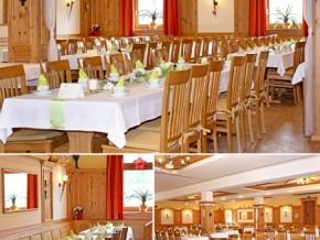 Hochzeitssaal Wolferszell, Gasthof, Saal für 100 Personen, Bayern