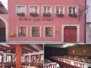 Hochzeitssaal Rothenburg ob der Tauber, Gasthof, Saal für 200 Personen, Bayern