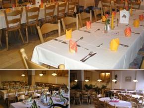 Hochzeitssaal Gunzenhausen-Unterwurmbach, Gasthaus, Saal für 95 Personen, Bayern