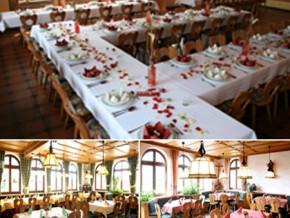 Hochzeitssaal Weisendorf, Gasthaus, Saal für 260 Personen, Bayern