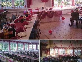 Hochzeitssaal Krempe, Gasthaus, Saal für 140 Personen, Schleswig-Holstein