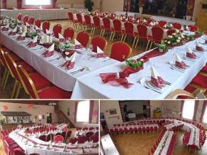Hochzeitssaal Ludwigsfelde, Gasthaus, Saal für 120 Personen, Brandenburg