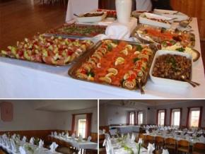 Hochzeitssaal Bütthard, Gasthaus, Saal für 100 Personen, Bayern