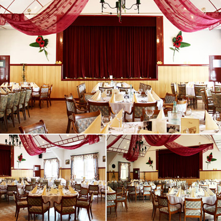 Hochzeitssaal Uslar-Eschershausen