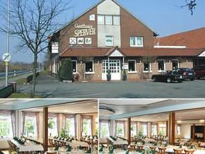 Hochzeitssaal Lingen Ems, Gasthaus, Saal für 300 Personen, Niedersachsen