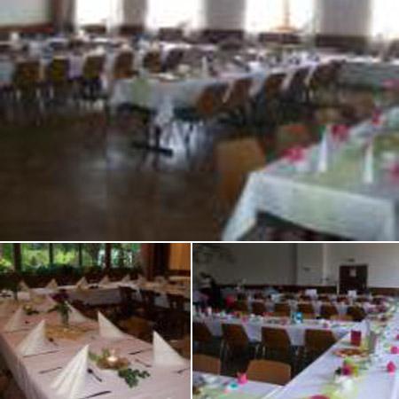 Hochzeitssaal Berg - Tiefengrün