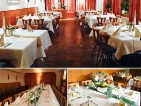 Hochzeitssaal Albbruck-Schachen, Gasthaus, Saal für 75 Personen, Baden-Württemberg