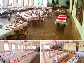 Hochzeitssaal Altötting, Gasthaus, Saal für 180 Personen, Bayern